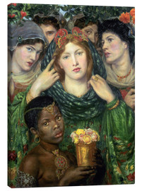 Lienzo  The beloved - Dante Charles Gabriel Rossetti
