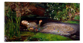 Metacrilato  Ophelia - Sir John Everett Millais