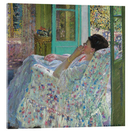 Metacrilato  Afternoon, Yellow Room - Frederick Carl Frieseke