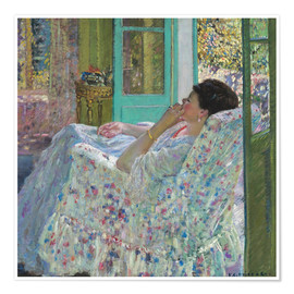 Póster  Afternoon, Yellow Room - Frederick Carl Frieseke