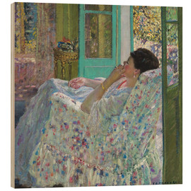 Madera  Afternoon, Yellow Room - Frederick Carl Frieseke
