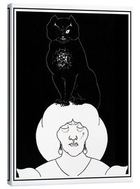 Lienzo  The black cat - Aubrey Vincent Beardsley
