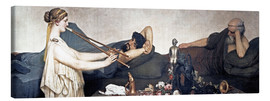 Lienzo  The Siesta - Lawrence Alma-Tadema