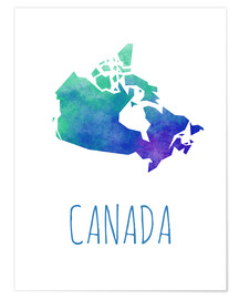 Póster Canada