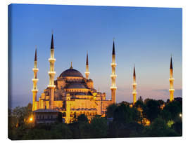 Lienzo  Blue Mosque at twilight - Circumnavigation
