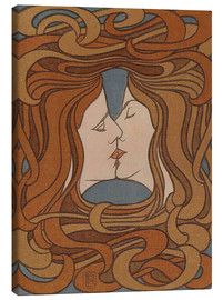 Lienzo  The Kiss - Peter Behrens