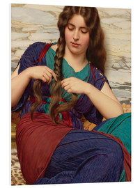 Cuadro de PVC  A congenial task, detail - John William Godward