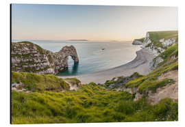 Cuadro de aluminio  Durdle Door at the Jurassic Coast (England) - Christian Müringer