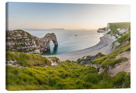 Lienzo  Durdle Door at the Jurassic Coast (England) - Christian Müringer