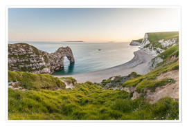 Póster  Durdle Door at the Jurassic Coast (England) - Christian Müringer