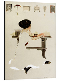 Cuadro de aluminio  Know all men by these presents - Clarence Coles Phillips