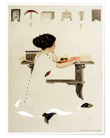 Póster  Know all men by these presents - Clarence Coles Phillips