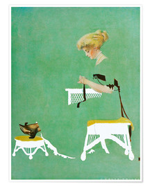 Póster  Home ties - Clarence Coles Phillips