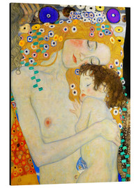 Aluminio-Dibond  Mother and Child (detail) - Gustav Klimt