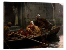 Cuadro de metacrilato  In Time of Peril - Edmund Blair Leighton