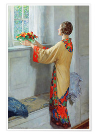 Póster  New day - William Henry Margetson