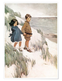 Póster  Baa Baa Black Sheep - Jessie Willcox Smith