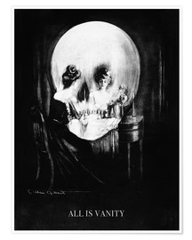 Póster  All is Vanity - Charles Allan Gilbert