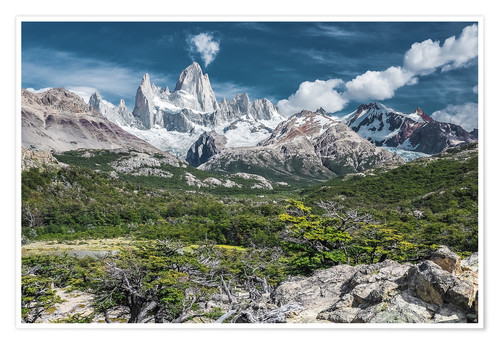 Póster Argentina - Patagonia