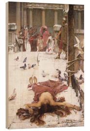 Cuadro de madera  Santa Eulalia - John William Waterhouse