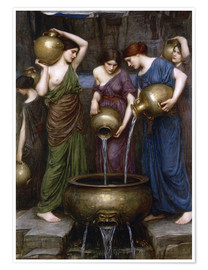 Póster  Las danaides - John William Waterhouse
