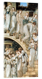 Metacrilato  The Golden Stairs - Edward Burne-Jones