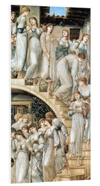 Cuadro de PVC  La escalera dorada - Edward Burne-Jones