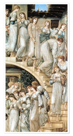 Póster  La escalera dorada - Edward Burne-Jones