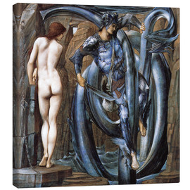 Lienzo  Perseus met the fate - Edward Burne-Jones