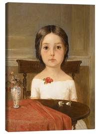 Lienzo  Millie Smith - Ford Madox Brown