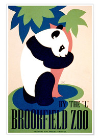 Póster  Brookfield Zoo - Advertising Collection