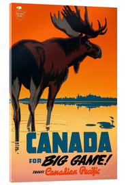 Cuadro de metacrilato  Canada travel for big game - Travel Collection