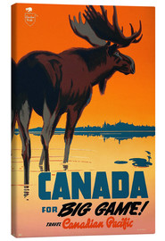 Lienzo  Canada travel for big game - Travel Collection