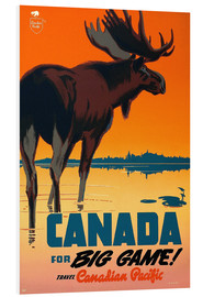 Cuadro de PVC  Canada travel for big game - Travel Collection