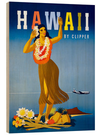 Madera  Hawaii by Clipper vintage travel