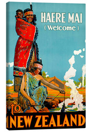 Lienzo  Haere Mai welcome to New Zealand - Travel Collection