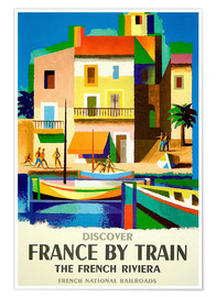 Póster  France by Train