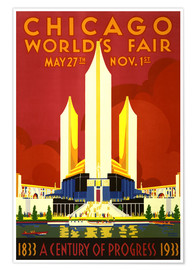 Póster  Chicago worlds fair - Travel Collection