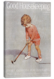 Lienzo  golf art jessie - Jessie Willcox Smith