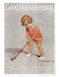 Jessie Willcox Smith - golf art jessie