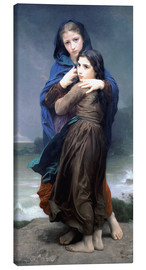 Lienzo  The Storm - William Adolphe Bouguereau