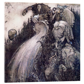 Metacrilato  Troll of the forest - John Bauer