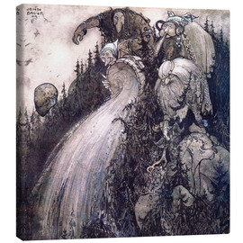 Lienzo  Troll of the forest - John Bauer