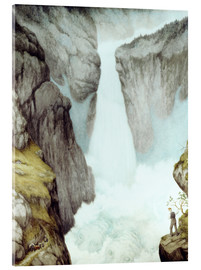 Metacrilato  At the waterfall - Theodor Kittelsen