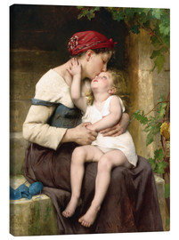 Lienzo  Mother and Child - Leon Bazile Perrault