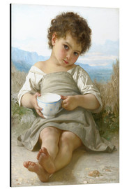 Cuadro de aluminio  A little break - William Adolphe Bouguereau