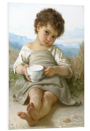 Cuadro de PVC  A little break - William Adolphe Bouguereau