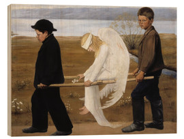 Madera  The Wounded Angel - Hugo Simbert