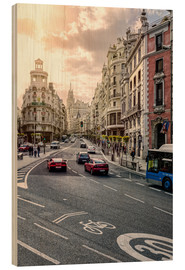 Madera  Gran via en madrid - Stefan Becker