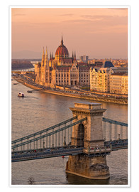 Póster  Budapest late afternoon - Fine Art Images